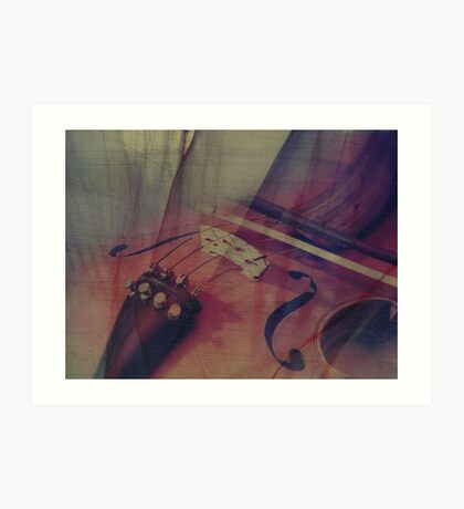 the melody of my soul  Art Print