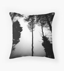 Serpentine Pine Throw Pillow