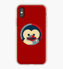 Linux tux penguin obama poster baby  iPhone Case