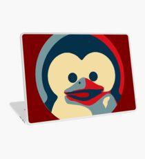 Linux tux penguin obama poster baby  Laptop Skin