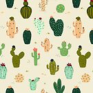 Desert cacti by movezerb