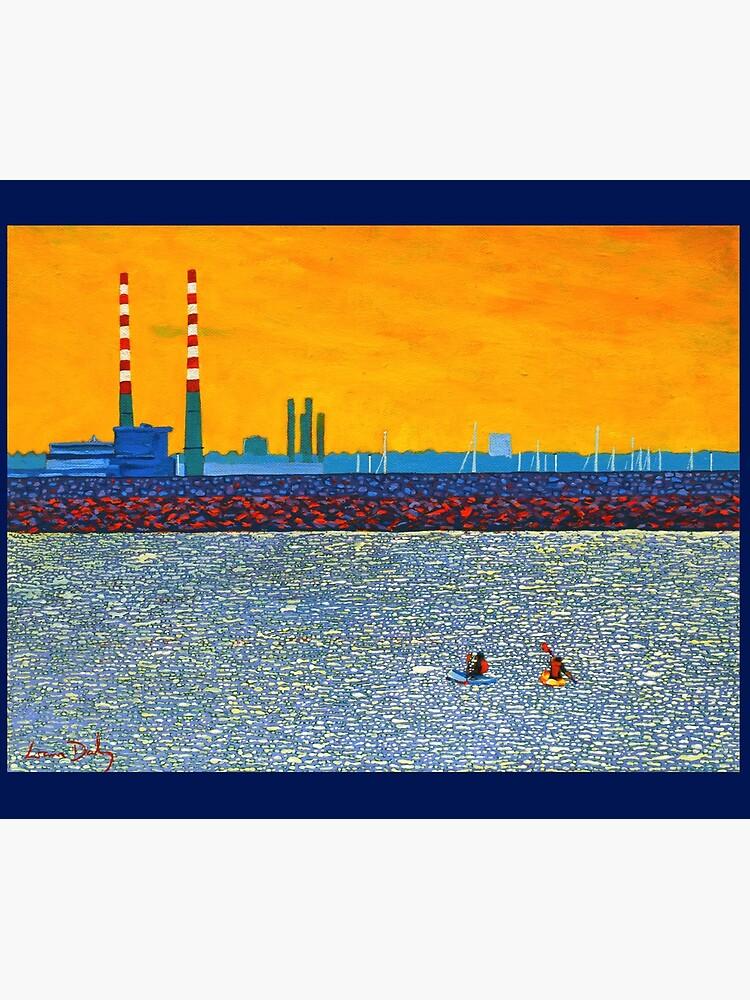 Poolbeg, Kayakers (Dublin, Ireland) by eolai