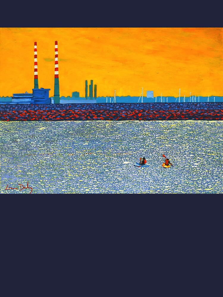 Poolbeg, Kayakers (Dublin, Ireland) by eolai