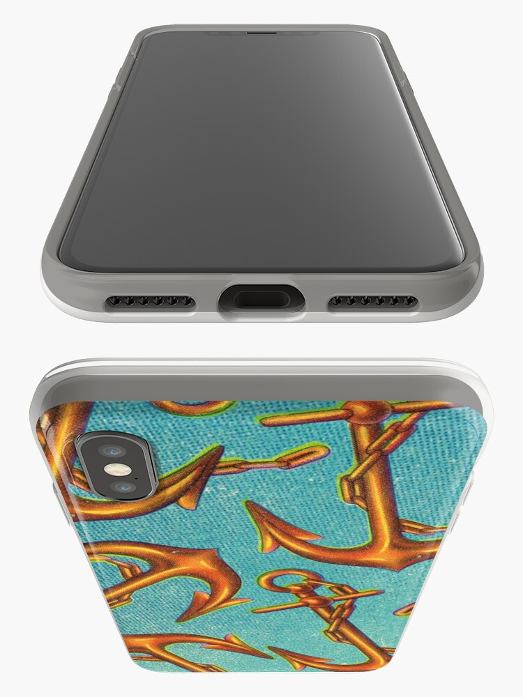 Alternate view of Dicky Bow - Anchors iPhone Case & Cover