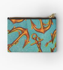 Dicky Bow - Anchors Zipper Pouch