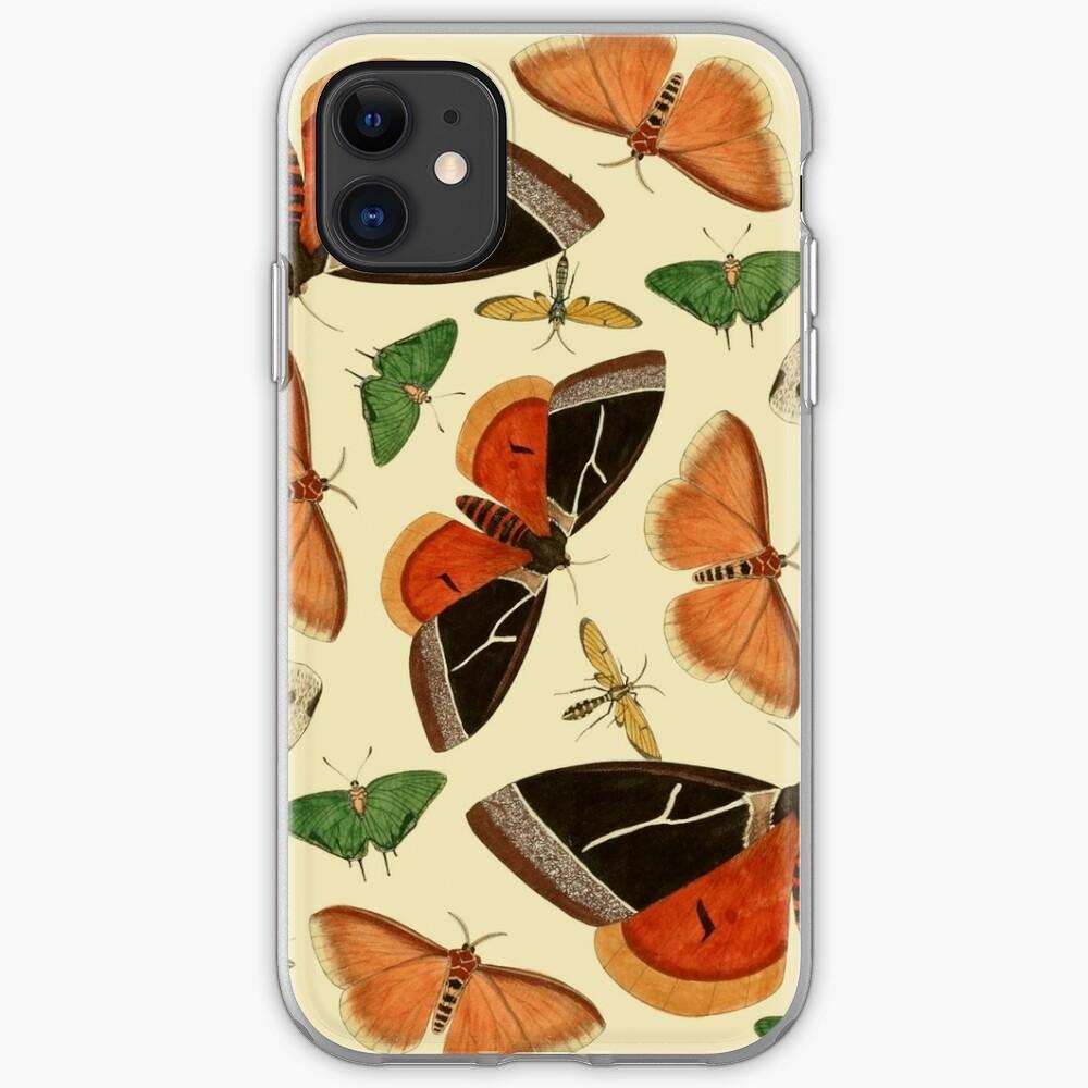 Vintage Butterflies iPhone Soft Case
