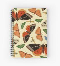 Vintage Butterflies Spiral Notebook