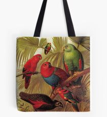 Parrots in the Jungle Tote Bag