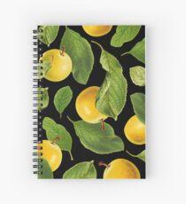 Botanical Vintage Fruit Spiral Notebook