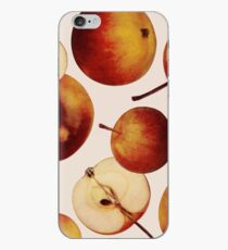 Vintage Apples Print iPhone Case