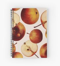 Vintage Apples Print Spiral Notebook