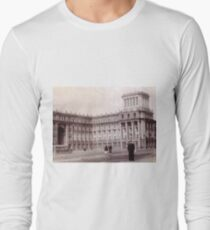 #Norilsk #NorilLag #Landmark #Architecture Classical architecture Building Palace History Plaza City old built Long Sleeve T-Shirt