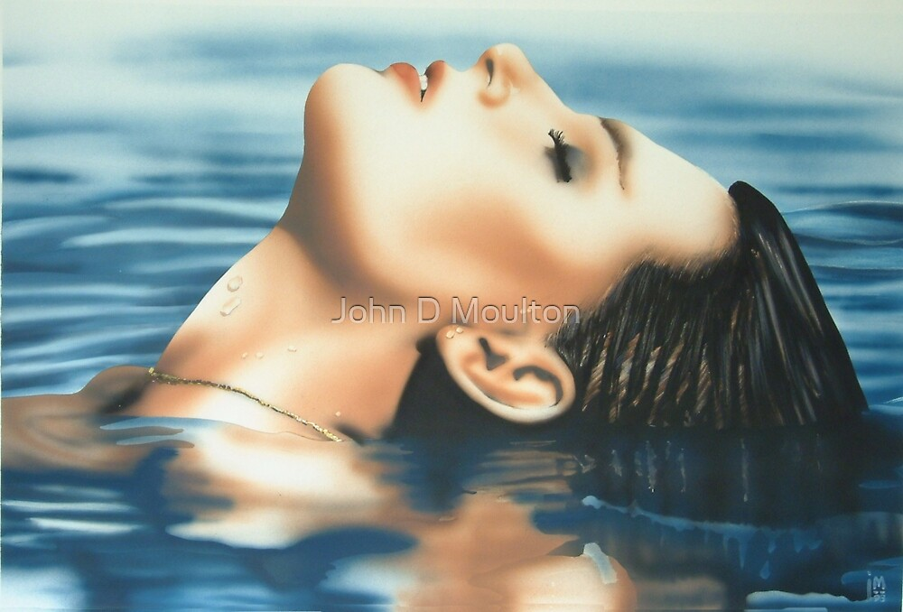 """Serenity"" Water Colour Artwork by John D Moulton"