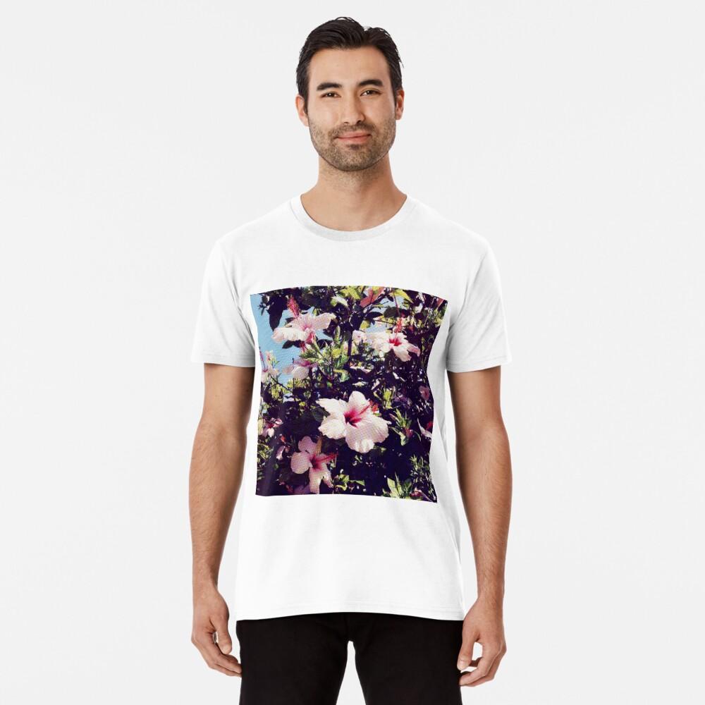Ibiscus tropisch Premium T-Shirt