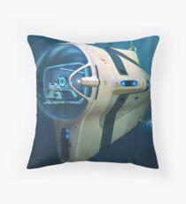 Subnautica - Cyclops Submarine Vehicle Throw Pillow