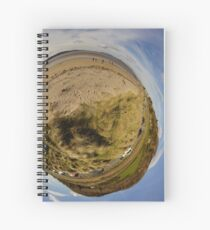 Lisfannon Beach, Fahan, County Donegal, Sky Out Spiral Notebook