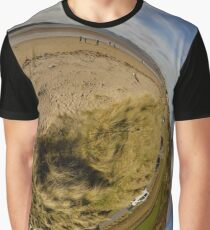 Lisfannon Beach, Fahan, County Donegal, Sky Out Graphic T-Shirt