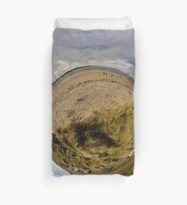 Lisfannon Beach, Fahan, County Donegal, Sky Out Duvet Cover