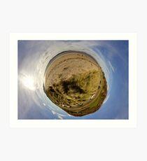 Lisfannon Beach, Fahan, County Donegal, Sky Out Art Print