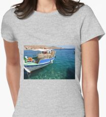 Lobster Pots Women's Fitted T-Shirt