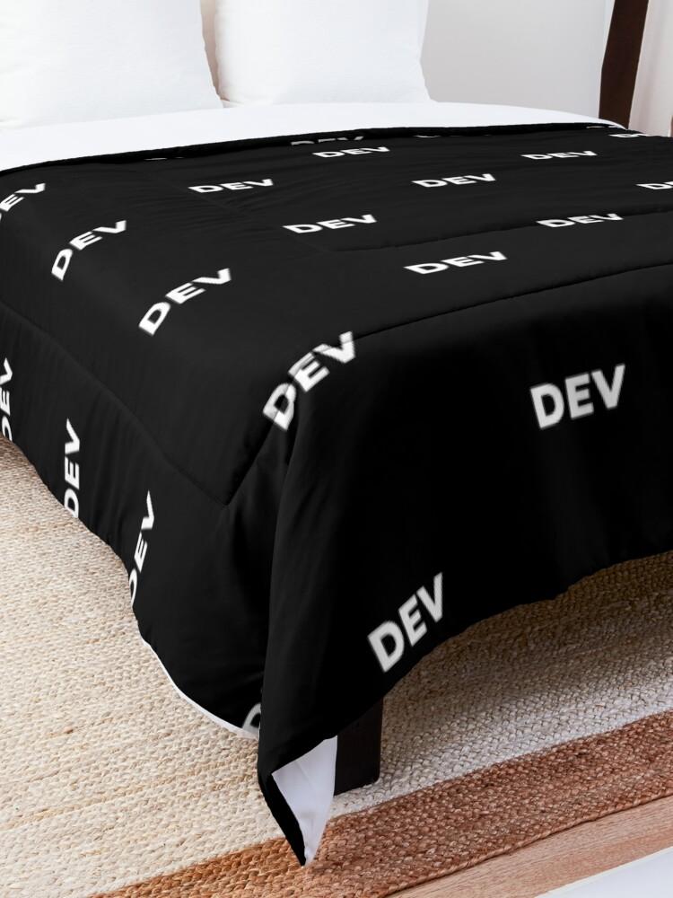 Alternate view of Dev Comforter
