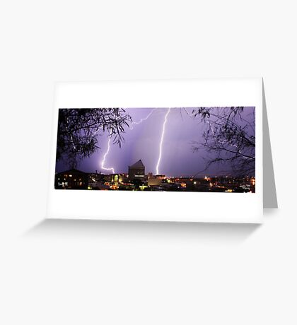 Bunbury Lightning Greeting Card