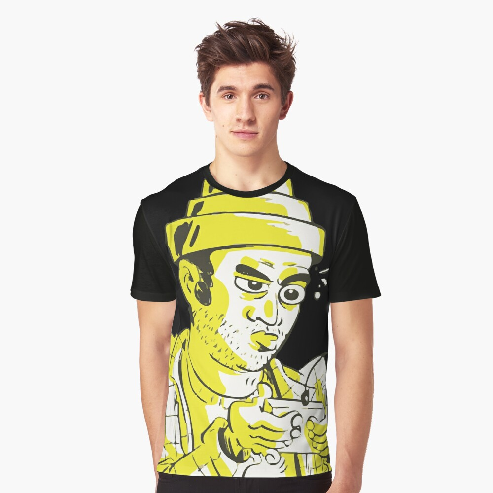 ★ Gamer Graphic T-Shirt Front