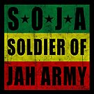 SOJA Soldier of Jah Army by LionTuff79