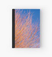 Winter willow Hardcover Journal
