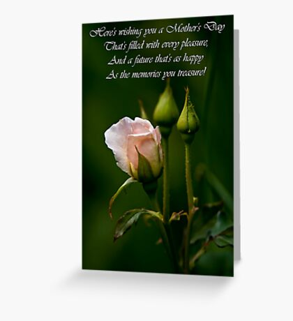 Mother's Day Card 4 Greeting Card