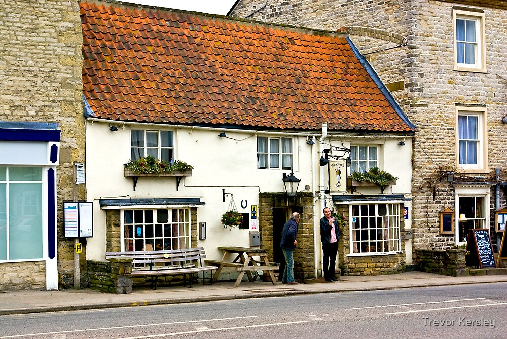 Pickwicks Bar  - Helmsley by Trevor Kersley