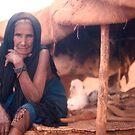 Issa in her Tent, Illela, Niger by Valarie Napawanetz