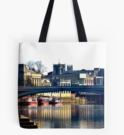 River Ouse View - York Tote Bag