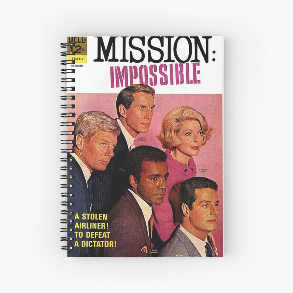 Mission Impossible Spiral Notebook