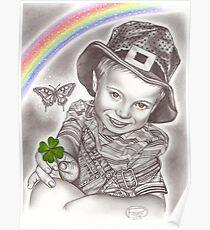 Lucky clover Poster