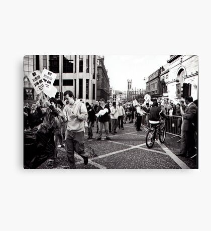 Taking over the Streets Canvas Print