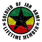 Soldier of Jah Army Lifetime Member by LionTuff79