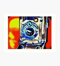 ZEISS IKON camera thula-art Art Print