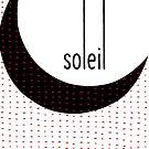 «Tipo minimalista Sun Soleil líneas blancas y negras» de oursunnycdays
