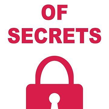 Full Of Secrets Lock by yuforia