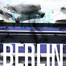 I love Berlin, tram, collage - gift by fritzlang