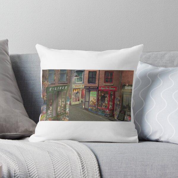 Fetish Alley Throw Pillow