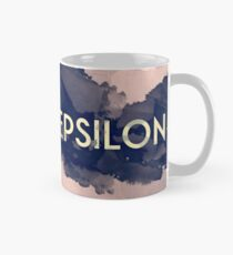 Greek Letter Epsilon Classic Mug