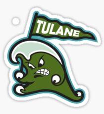 Tulane Stickers Sticker