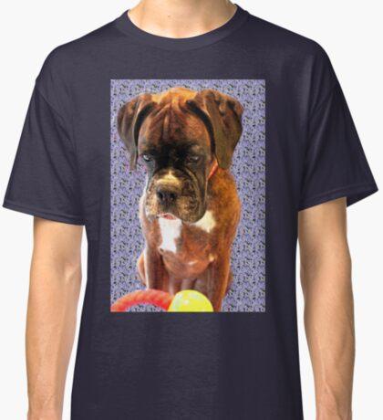 Feeling Blue - Boxer-Hunde-Serie Classic T-Shirt