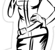 Rogue - X-Men Vector Art Sticker