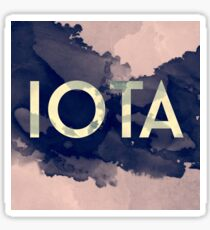 Greek Letter Iota Sticker