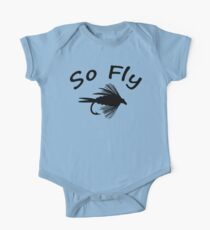 So Fly  - Fly Fishing T-shirt One Piece - Short Sleeve