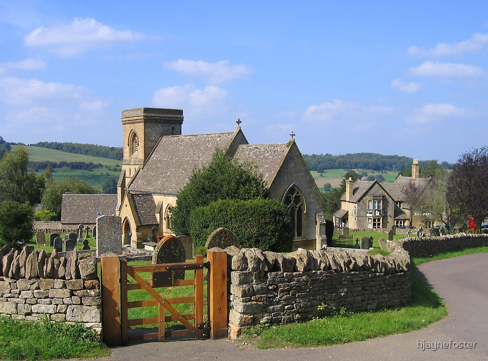 Quot St Barnabas Church Snowshill Gloucestershire England