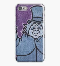 Phineas - Hitchhiking Ghost - The Haunted Mansion iPhone Case/Skin